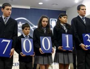 Primer premio del Sorteo del Niño 2011