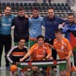 El equipo con la bandera saharaui