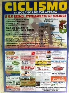 Ciclismo. II G. P. Excmo. Ayuntamiento de Bolaños