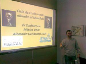 Imagen de la IV Conferencia sobre la Historia de los Campeonatos del Mundo de Fútbol