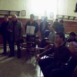Los asistentes fueron invitados a visitar en la Casa de Cultura la exposición sobre el VIII centenario de la Batalla de las Navas