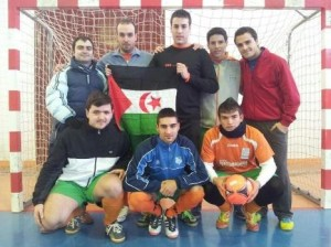 Equipo del Sport Team Jeyma que participó en el maratón solidario 2012