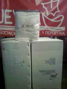 Mantas donadas por la ACDJ