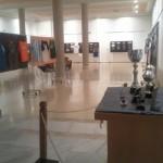 Vista de la sala de exposiciones de la Casa de Cultura