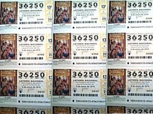 Décimos de la ACD Jeyma para la Lotería del Niño 2014