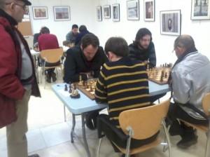 Tercera edición del torneo de ajedrez