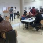 Salón de juego durante la tercera ronda