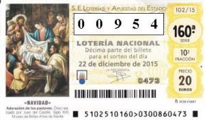 Lotería de Navidad de la Asociación Jeyma 2015