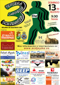 Cartel III Carrera Solidaria