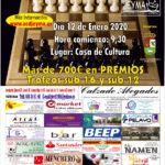 "Cartel del IX Torneo de Ajedrez ""ACD Jeyma"""